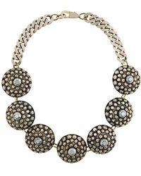 Jean Paul Gaultier - Disk Statement Necklace - Lyst
