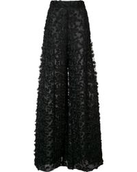 Christian Siriano - Petal Lace Trousers - Lyst