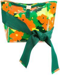 MUVEIL - Bow Handle Camouflage Shoulder Bag - Lyst