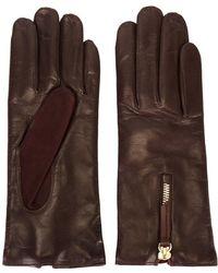 Want Les Essentiels De La Vie - Zip Detail Gloves - Lyst