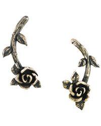 Jean Paul Gaultier - Rose Earrings - Lyst