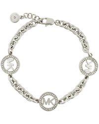 MICHAEL Michael Kors - Logo Detail Bracelet - Lyst