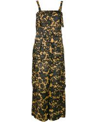 Christian Wijnants - Floral Print Jumpsuit - Lyst