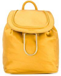 Diane von Furstenberg - Drawstring Flap Closure Backpack - Lyst