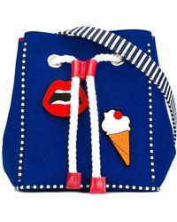 Yazbukey - Multi Patched Shoulder Bag - Lyst