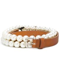 Peter Jensen - Double Pearl Belt - Lyst