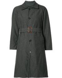 Engineered Garments - Classic Midi Coat - Lyst