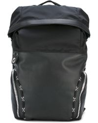 Diesel Black Gold - Eyelet Lace-up Detail Backpack - Lyst