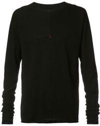 Ma+ - - Longsleeved T-shirt - Men - Cotton/wool - 48 - Lyst