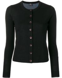 PS by Paul Smith - Graphic Print Knitted Cardigan - Lyst