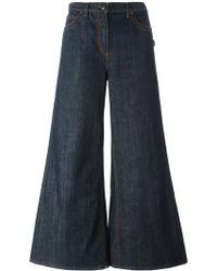 Jean Paul Gaultier - Wide Flare Jeans - Lyst