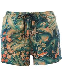 Dries Van Noten - - Leaves Print Swim Shorts - Men - Polyamide - M - Lyst