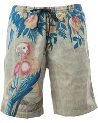 Dries Van Noten - - Macaw Print Swim Shorts - Men - Polyamide - L - Lyst