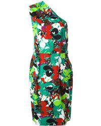 Guy Laroche - One-shoulder Dress - Lyst