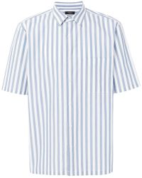 Theory - Striped Shirt - Lyst