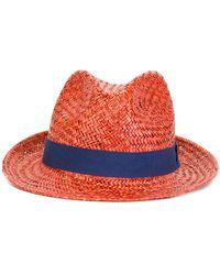 Hackett - Contrast Hat - Lyst