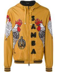Dolce & Gabbana - Samba Rooster Print Jacket - Lyst
