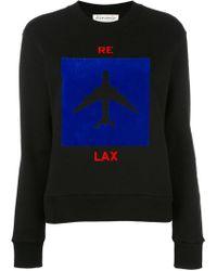 Être Cécile - Aeroplane Print Sweatshirt - Lyst