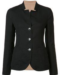 Akris - Button Up Jacket - Lyst