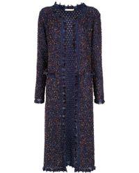 Cecilia Prado - Long Knit Coat - Lyst