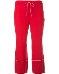 L'Autre Chose - Cropped Trousers - Lyst
