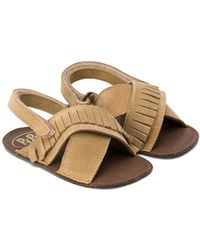 Pepe Jeans - Fringed Slip-on Sandals - Lyst