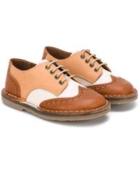 Pepe Jeans - Brogued Derby Shoes - Lyst