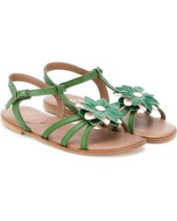 Pepe Jeans - Floral Sandals - Lyst