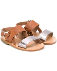 Pepe Jeans - Two-tone Sandals - Lyst