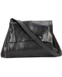 Ma+ - - Small Expandable Accordion Messenger Bag - Unisex - Calf Leather - One Size - Lyst