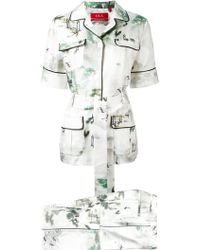 F.R.S For Restless Sleepers | Floral Print Suit | Lyst