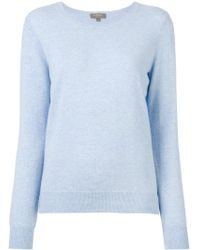 N.Peal Cashmere - Plain Sweatshirt - Lyst