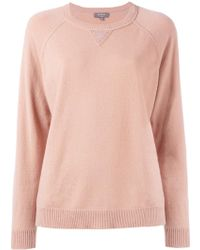 N.Peal Cashmere - Knitted Long Sleeve Sweatshirt - Lyst
