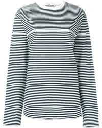 Stone Island - Striped Long-sleeve T-shirt - Lyst