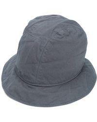 Sacai - Cupro Bucket Hat - Lyst