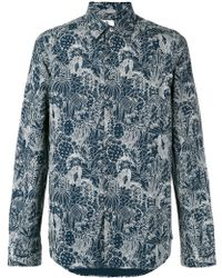 Paul by Paul Smith - Printed Shirt - Lyst