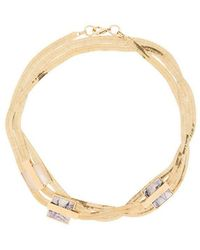 Crystalline - Short Snake Chain Necklace - Lyst