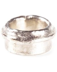 1-100 - Metallic Ring - Lyst