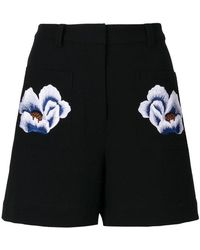 Markus Lupfer - Floral Patch Shorts - Lyst