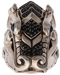 John Hardy - Naga Sapphire And Spinel Ring - Lyst