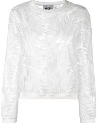 Si-jay - Embroidered Sweatshirt - Lyst