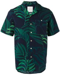A Kind Of Guise - - Tropical Print Shortsleeved Shirt - Men - Cotton - L - Lyst