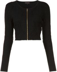 Sophie Theallet - Cropped Zip Jacket - Lyst