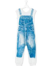 Jean Paul Gaultier - - Trompe L'oleil Jumpsuit - Kids - Polyester/spandex/elastane - 8 Yrs - Lyst