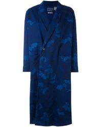 Blue Blue Japan - Printed Kimono Coat - Lyst