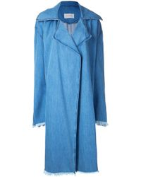 Strateas Carlucci - Censor Macro Trench Coat - Lyst