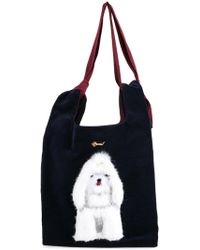 MUVEIL - Dog Embellished Shoulder Bag - Lyst