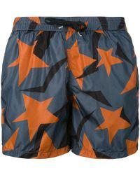 Dior Homme - - Stars Print Swim Shorts - Men - Polyamide - S - Lyst