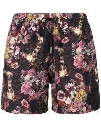 NOS Beachwear - - Skulls Print Swim Shorts - Men - Polyamide - Xl - Lyst