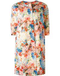 Si-jay - Floral Print Coat - Lyst